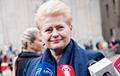 Грибаускайте: Литва ввела национальные санкции против России