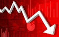 Российская экономика снова оказалась на грани рецессии