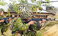 "Paratroopers of Belarus, Russia and Serbia drill ""quelling"" of Maidan"
