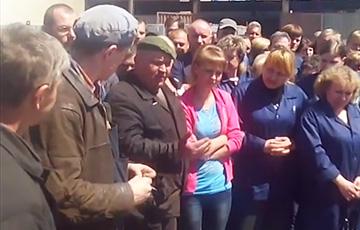 Strike at plant in Maladzechna