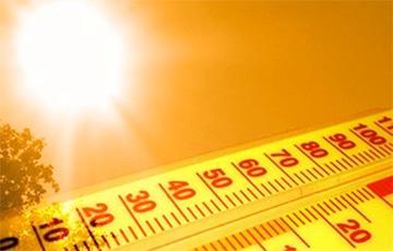 В Беларуси побит температурный рекорд дня за весь период метеонаблюдений