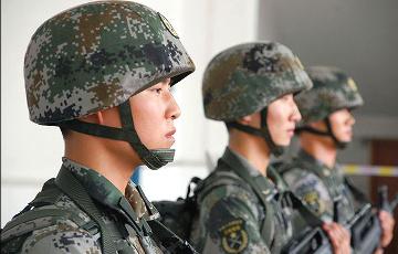 Китай начал переброску солдат в Россию