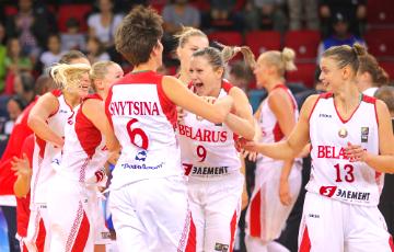 Квалификация ЧЕ-2019: Белорусские баскетболистки разгромили сборную Эстонии