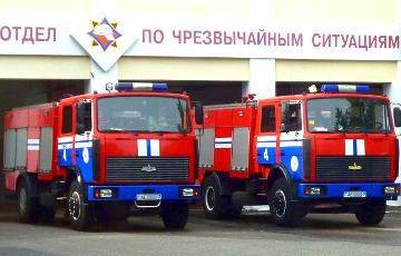 В здании Минского областного архива произошел пожар