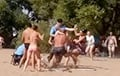 Minsk resident detained on beach: Riot policeman attacked me and began to twist my arms