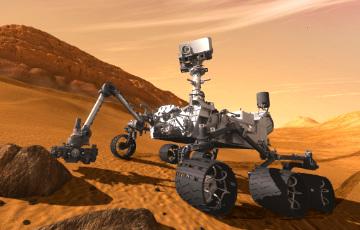 Фотофакт: Марсоход сделал уникальный снимок рассвета на Красной планете