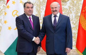 Лукашенко: Таджики - наши родные братья