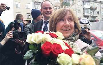 Светлана Алексиевич: Я - представитель белорусского мира