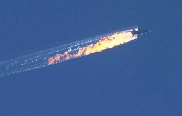 ВВС Турции сбили российский Су-24 возле границы с Сирией