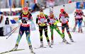 Белорусские биатлонисты заняли весь пьедестал в контрольном спринте в Контиолахти