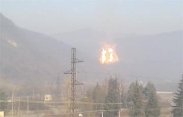 В Украине взорвался трубопровод, поставляющий российский газ в ЕС