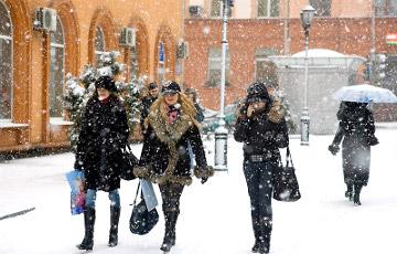 В Беларусь пришел циклон «Даниэлла»