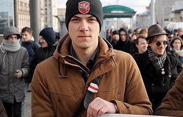 Глеба Вайкуля отчислили из БГУ, он готовит новую акцию