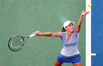 Саснович одержала уверенную победу в первом раунде турнира в Нью-Йорке
