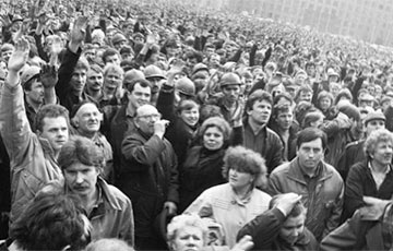 Minsk Mass Rallies Tore Up Foundations Of Soviet Power In April 1991