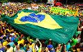 У Бразіліі жанчыны з мясцовых плямёнаў выйшлі на пратэсты