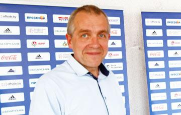 Бережков: На матче с Францией устроим первый в истории белорусского футбола перфоманс