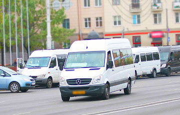 Weird People Checking  Tickets Of Passengers In Minsk Minibuses