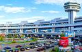 Фотафакт: Як выглядае табло менскага аэрапорта ў туманны дзень