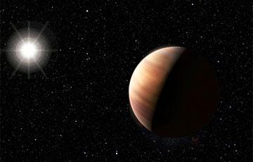 Астраномы знайшлі планету буйнейшую за Юпітэр у 13 разоў