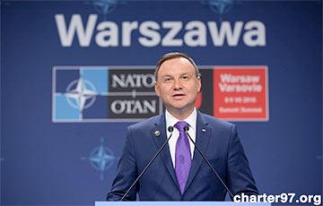 Дуда: Расширение контингента США в Польше — ответ на военные учения в Беларуси
