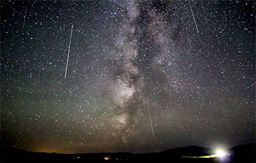 Где и во сколько белорусам смотреть метеорный поток Персеиды?