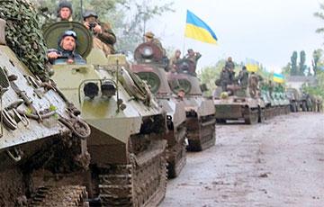 Ва Украіне на мяжы з Беларуссю ствараюць асобны танкавы батальён