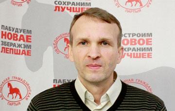 В Гомеле вышел на свободу активист Василий Поляков