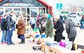 Властям Минска снова не дают покоя бабушки на мини-рынках