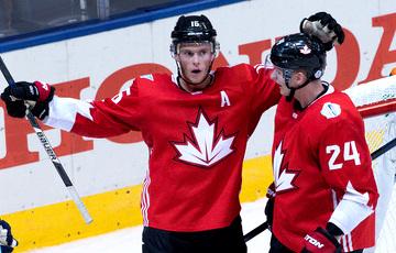 Канада перавяла гульню са Швейцарыяй у авертайм за 0,4 секунды да канца матчу і перамагла
