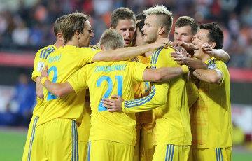 Каманда Украіны ў футболе ўстанавіла унікальны рэкорд усіх часоў