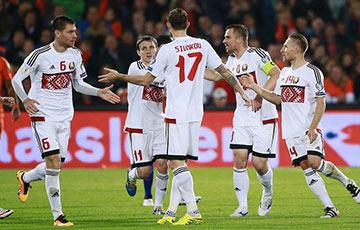 Сборная Беларуси по футболу проиграла Эстонии