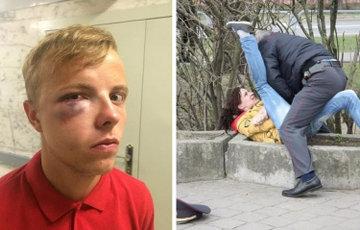 Милиционеры, которых «избили» женщины и дети
