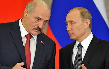 На встрече Лукашенко и Путина погас свет