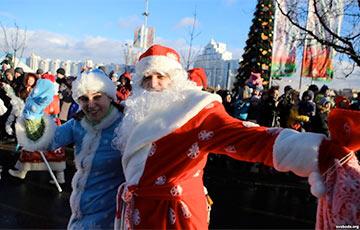 В Минске запретили частных Дедов Морозов