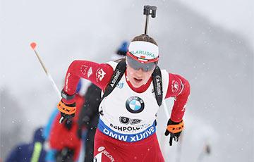 Домрачева заняла 37-е место в гонке преследования