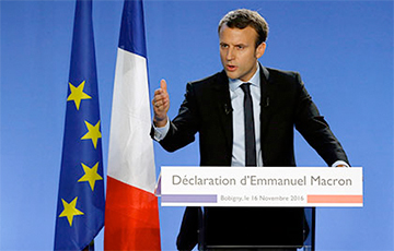 Макрон упэўнена апярэджвае Ле Пэн на выбарах прэзідэнта Францыі
