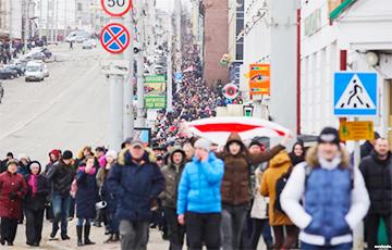 """В Беларуси проходят массовые митинги против """"декрета о тунеядстве"""" - Цензор.НЕТ 6549"""