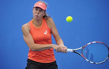 Теннисистка Лапко вышла на протест: Людей очень много! Где-то около 97% населения