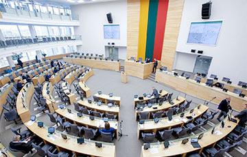 Сейм Литвы: Любые соглашения Лукашенко с Россией — преступление против белорусского народа