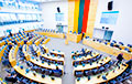 Lithuanian Conservatives Leave Seimas Session Due To Position Related To BelNPP