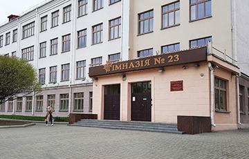 Выпускнікі сталічнай беларускамоўнай гімназіі звярнуліся да педагогаў з камісіі