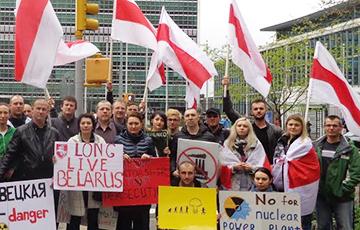 Belarusians In Vilnius Prepare Protest Against Belnpp