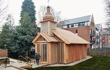Як беларуская царква ў Лондане стала найлепшым рэлігійным будынкам свету