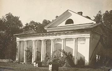 Фотофакт: Уникальные снимки белорусских дворцов начала XX века