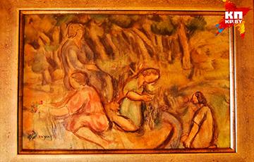 Беларуси подарили уникальную картину художника Парижской школы