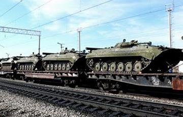 Фотофакт: Российская военная техника в Минске