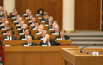 «Выбары» прызначаныя: у «савет рэспублікі» - 7 лістапада, у «палату» - 17 лістапада