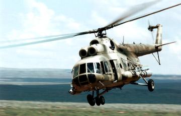 Российский военный вертолет Ми-8 разбился на аэродроме под Саратовом