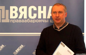 Pavel Sapelka: There are legal mechanisms to release Statkevich